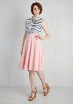 Just this Sway Skirt in Carnation