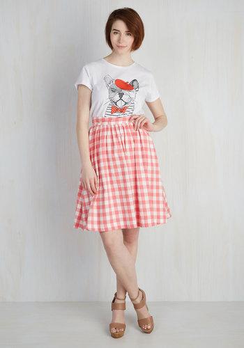 Garden Gallery Skirt