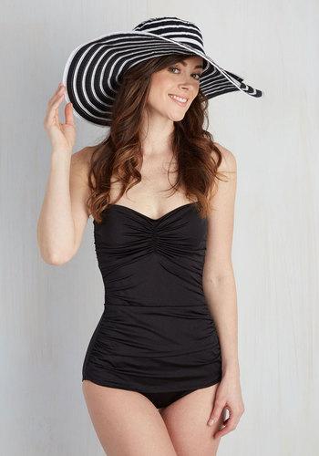 Tip Topper Shape Sun Hat $34.99 AT vintagedancer.com