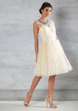 Wedding Belle Lace Dress in Ivory