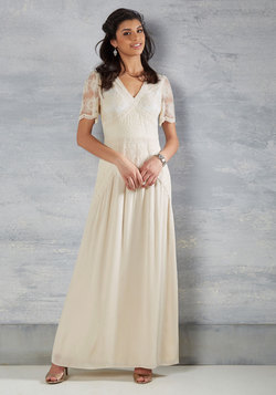 Right Here and Vow Dress in Ivory