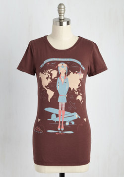 Airplane and Simple Tee