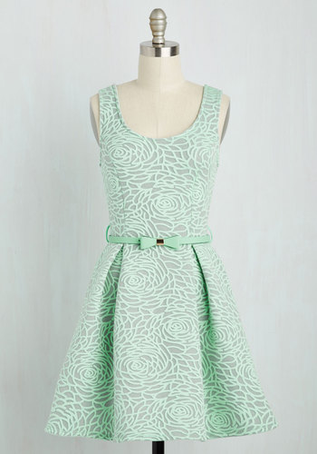 Aglow with Gusto Dress