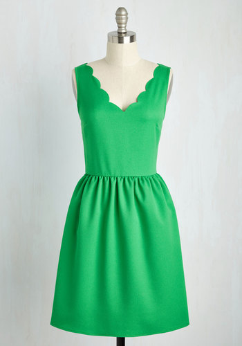 Reliably Blithe Dress in Clover