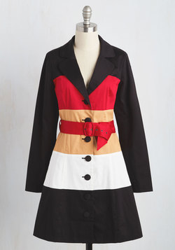 Colorblock Your World Trench