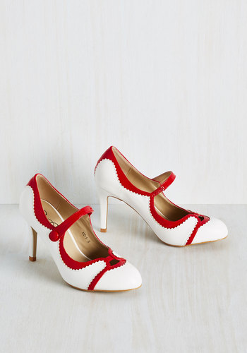 Meet for Malts Heel in Cherry $39.99 AT vintagedancer.com