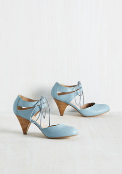 Hello, My Ragtime Pal Heel in Ash Blue