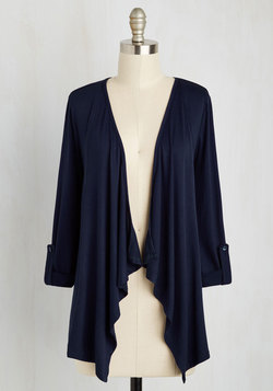 Styled and Freelance Cardigan in Navy