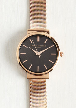 This Moment in Timeless Watch in Rose Gold - Midi