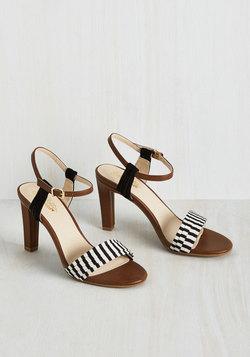 Prime Heel in Stripes