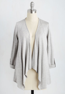 Styled and Freelance Cardigan in Grey