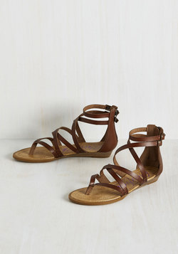 What's the Plan, Sand? Sandal in Chocolate