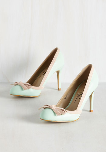 Gait Job! Heel in Mint