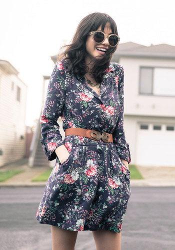So Field with Joy Romper in Floral