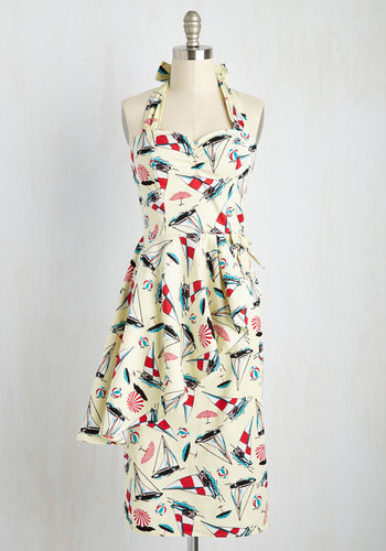 Sail It Loud Sail It Proud Dress $119.99 AT vintagedancer.com
