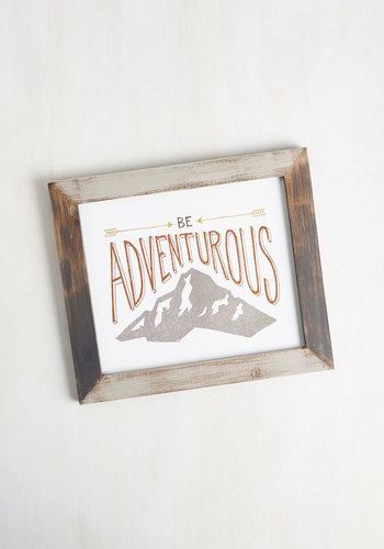 Ready, Frame, Admire! Wall Decor in Adventure