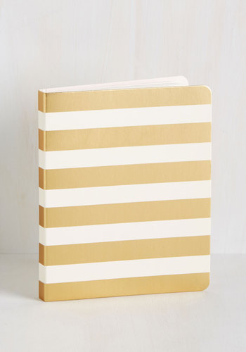 Like It or Note Notebook in Stripes