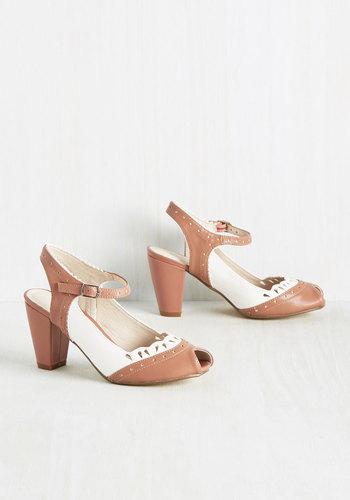 Malt Shop Sweetheart Heel in Dusty Rose $69.99 AT vintagedancer.com