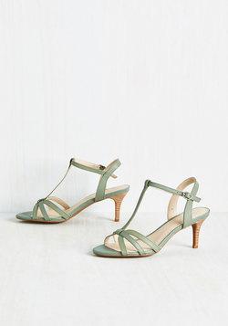Splendid Leather Heel in Thyme