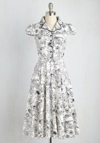 Divine Outlines Dress $89.99 AT vintagedancer.com