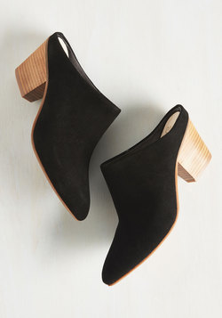 Got the Answer Heel in Black