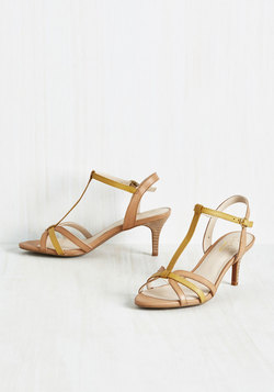Splendid Heel in Mustard
