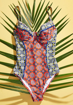 Seaway of Life One-Piece Swimsuit