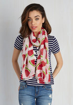 Rise and Rind Watermelon Fashion Scarf