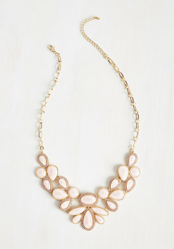 New 1940s Costume Jewelry: Necklaces, Earrings, Pins Shine-Tuned Necklace $24.99 AT vintagedancer.com
