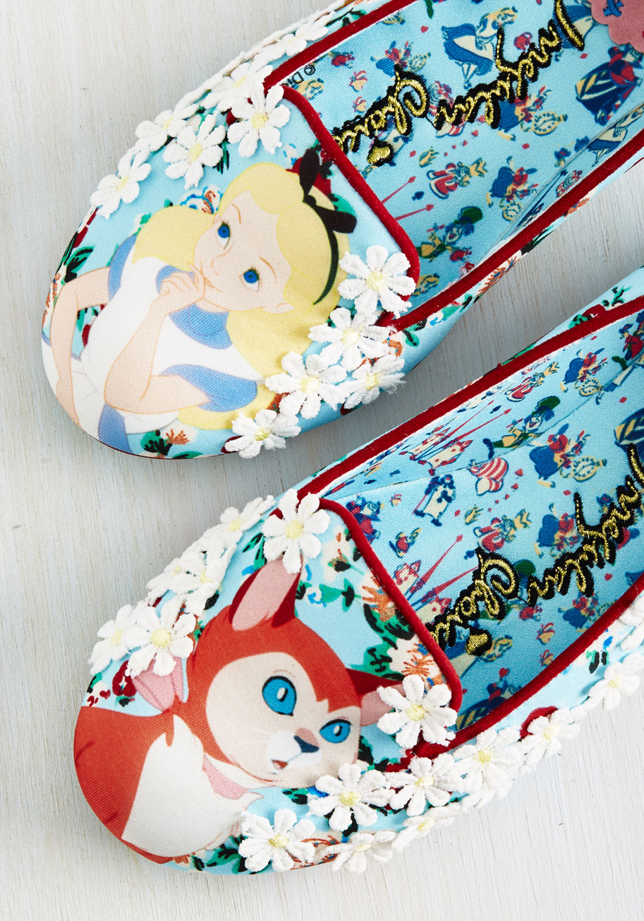 Limited Edition Alice in Wonderland flats