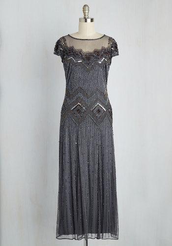 Spark Inspiration Dress in Slate Blue $199.99 AT vintagedancer.com