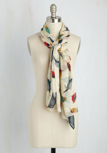 Flight on Time Scarf