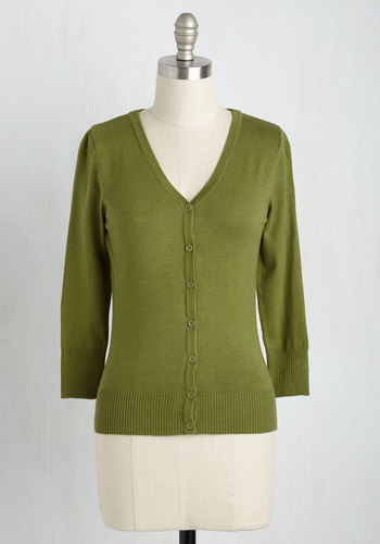 Charter School Cardigan in Sage - Green, Solid, 3/4 Sleeve, Work, Casual, Fall, Scholastic/Collegiate, Best Seller, Button Down, Minimal, V Neck, Variation, Pinup, Winter, Daytime Party, Basic, Folk Art, Green, Long Sleeve, Spring, Knit, 60s, Social Placements, Good, 4th of July Sale, As You Wish Sale, Top Rated, Mid-length, Colorsplash