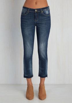 Capris-y Street Jeans