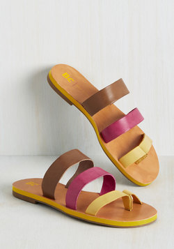 Zing in Your Step Sandal in Sherbet