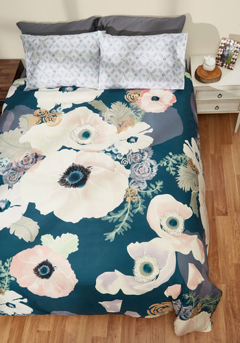 Let Nurture Take Its Course Duvet Cover in Full/Queen