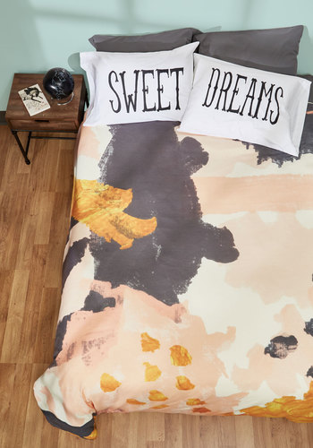 Expressionism of Style Duvet Cover in Full/Queen