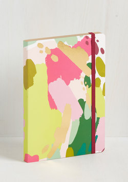 Artful Acknowledgement Notebook