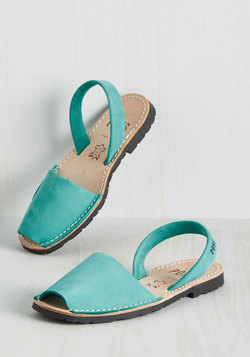 Force to Be Beckoned With Sandal in Aqua