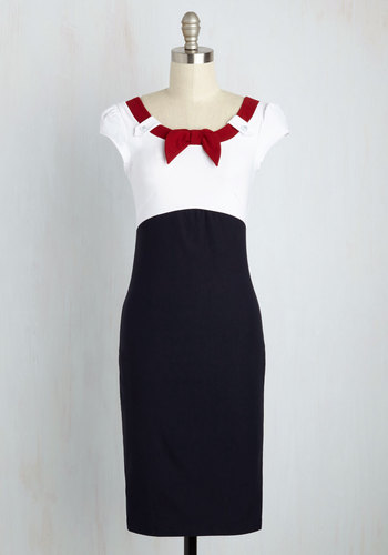 Nod to Nautical Dress $89.99 AT vintagedancer.com