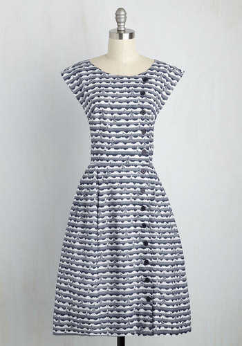 Fasten-ated by You Dress $119.99 AT vintagedancer.com