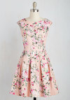 Fluttering Romance Dress in Blossoms