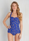 Bathing Beauty One-Piece Swimsuit in Starfish