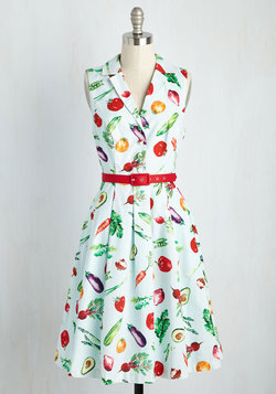 It's an Inspired Taste Dress in Vegetables