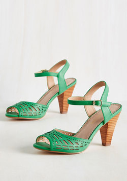 Best-Stepped Secret Heel in Clover