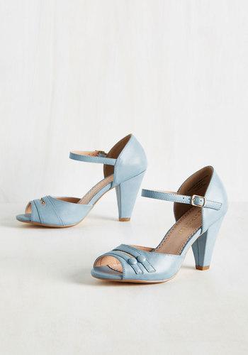 All-Singing All-Prancing Heel in Sky $64.99 AT vintagedancer.com