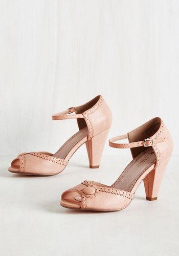 Marvelous Maven Heel in Blush $59.99 AT vintagedancer.com