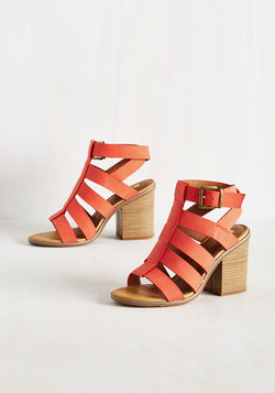 So Strappy Together Heel