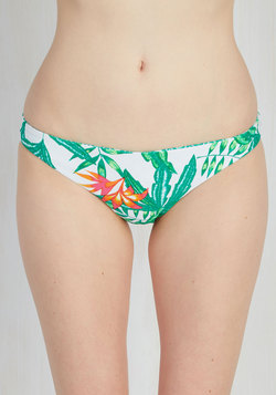 Pool Your Jets! Reversible Swimsuit Bottom