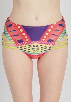 Color the Coastline Swimsuit Bottom